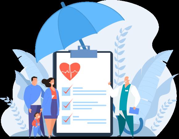 Медичне страхування всієї родини - легко і швидко!